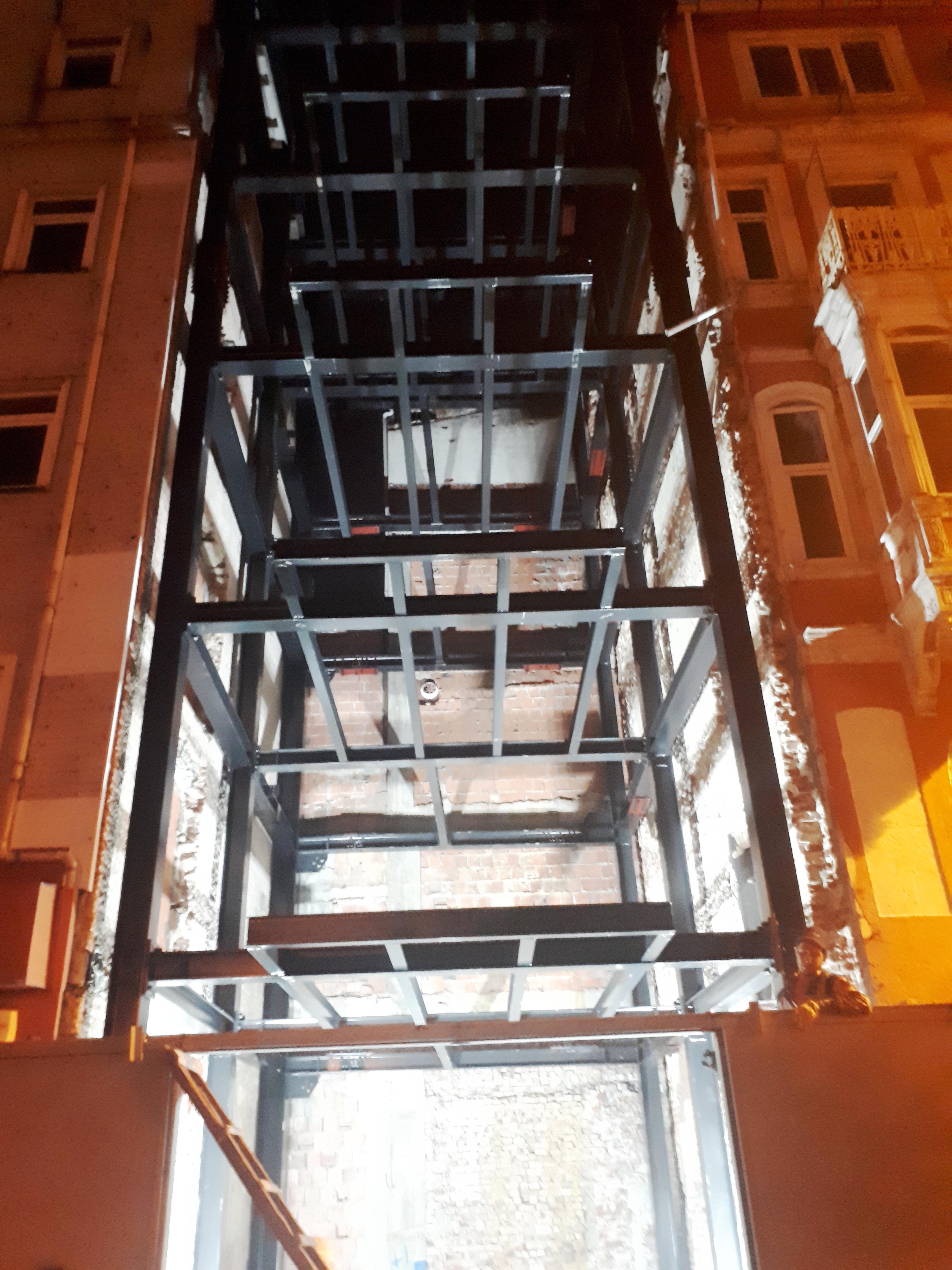 İSTANBUL-Şişhane Şantiyesi